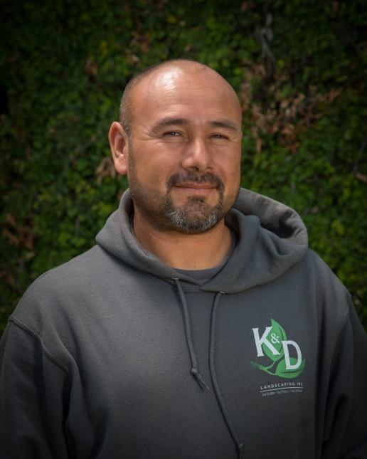 Juan Sotelo, Maintenance Division Supervisor