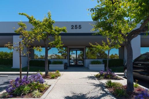 Entrance of Commercial Landscape Maintenance Property