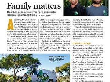 article, Landscape Management magazine, July 2018